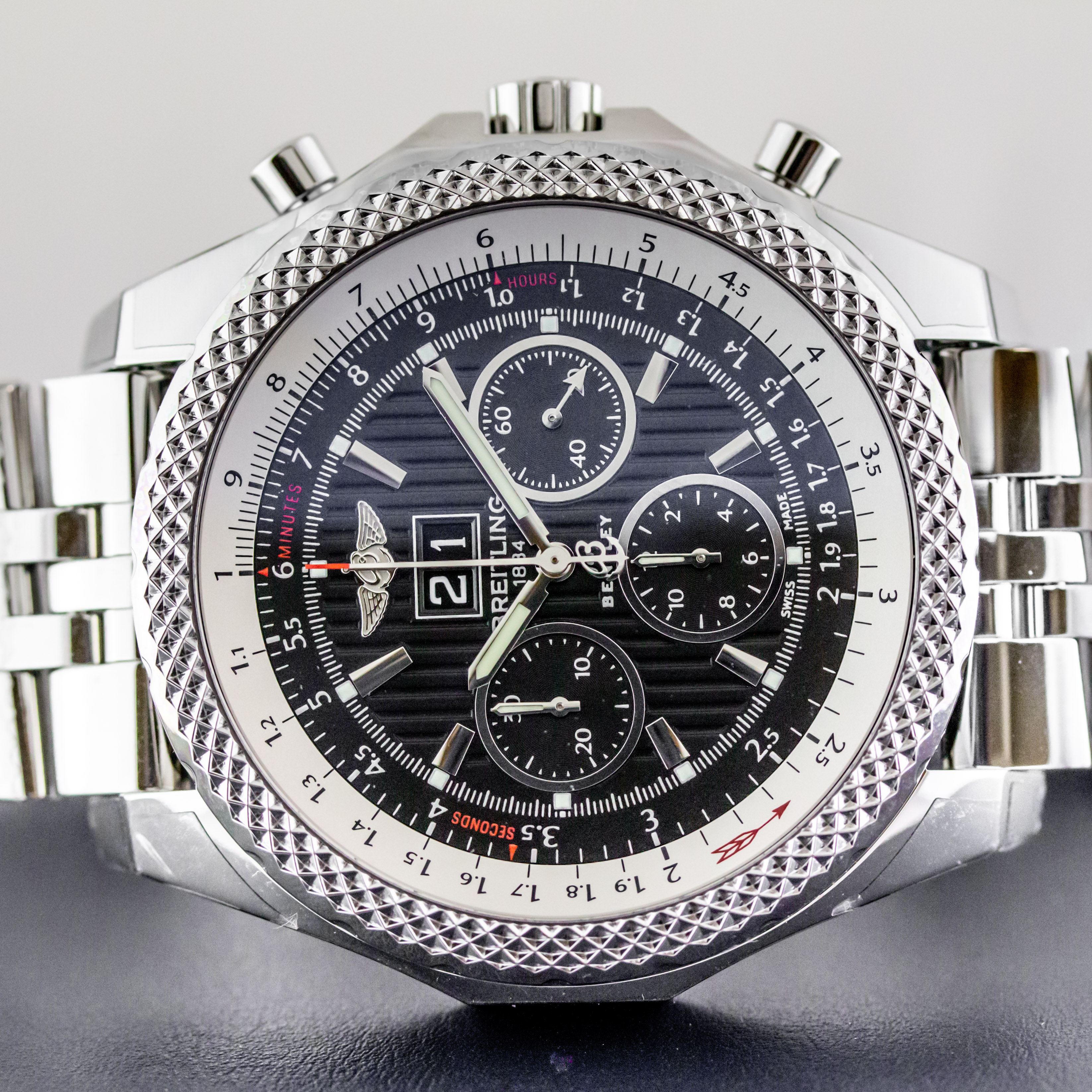 Breitling A4436412 Be17 990a Preowned Bentley 6 75 Speed